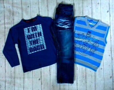 7 8 Years Store 21 Long Sleeve Tops Tank Top Jeans Boys Trendy Clothes Bundle