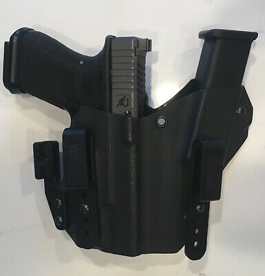 Glock 19/23 Inforce APLc Appendix IWB Insane Kydex Creations Holster Side Car