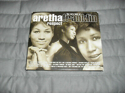 The Very Best Of Aretha Franklin- 2 Cd- Good Condition- 43 Tracks.