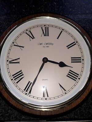 Vintage Wm. Widdop Quartz Wall Clock
