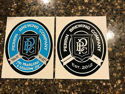BOOZE BROTHERS BREWING CO die cut LOGO STICKER decal craft beer brewery
