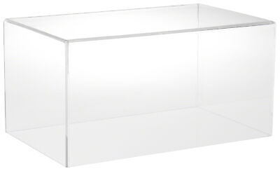 "Plymor Clear Acrylic Display Case with No Base, 16"" W x 10"" D x 8"" H"