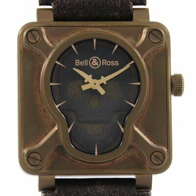 Bell & Ross Skull Bronze BR0192-SKULL-BR/SCA Automatic Brown 46mm Men's Limited