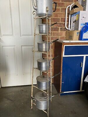 vintage Pots And Stand