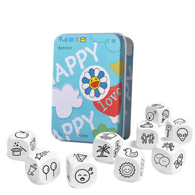 Education Game Board Play Story Dice Education Kids Toys & Hobbies Travel Game