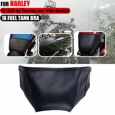 Gas Fuel Tank Shield Bra For Harley Touring Electra Road Street Glide 1997-18