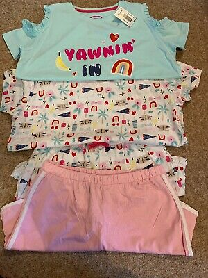 Girls Double 2 Pack Pyjamas Matalan Age 12 BNWT