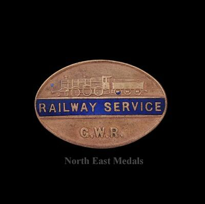 Great Western Railway GWR Railway Service Lapel Badge