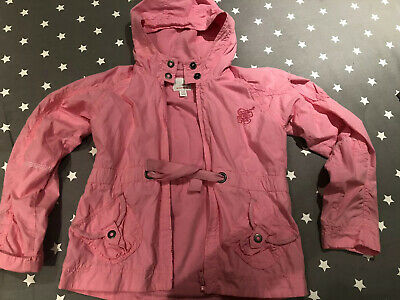 Next Girls Pink Hooded Jacket - Age 9-10 Years
