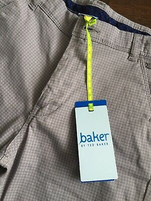 Boys Ted Baker Trousers Age 10 Years