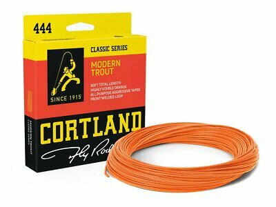 Cortland Precision Trout Dyna-Tip WF8FWestern Drifter Fly Line  Dual Loops