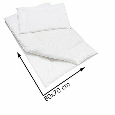 Anti Allergy Duvet and Pillow Set 80x70 cm for Crib OR PRAM