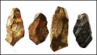Mousterian paleolithic 4 prehistoric flint tools levallois British neanderthal