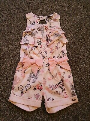 Girls Ariana Dee Playsuit Age 4 Immaculate