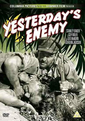 Yesterday's Enemy NEW PAL Classic DVD Stanley Baker