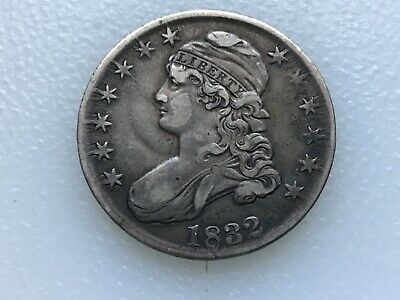 1832 Bust Half Dollar - Must See - Great coin lot 2