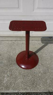 Red Vending Machine Stand holds two Candy Machines or Gumball Machines