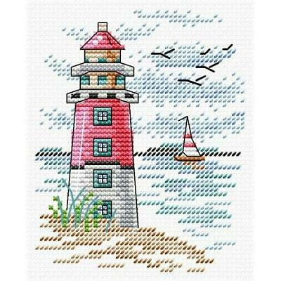 M-216 MP Studia Counted Cross Stitch Kit The Lighthouse