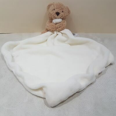 Fawn Bear With White Blankie By Marks And Spencer NEW