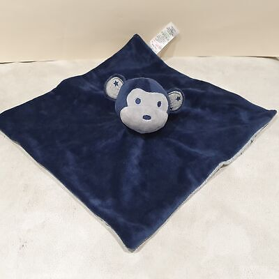 Blue Monkey Comforter Soother Blankie By Matalan NEW