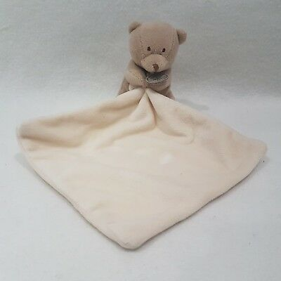 Brown Bear Blankie From Doudou Et Compagnie NEW