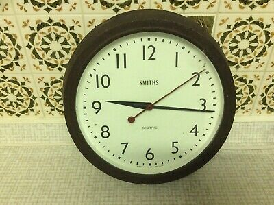 Smiths Sectric  Vintage Bakelite  Electric Wall Clock