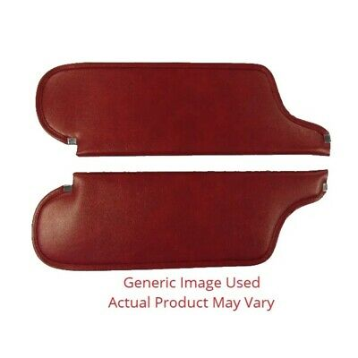 Sun Visor for 1969-70 Dodge Charger Hardtop  Coachman Red