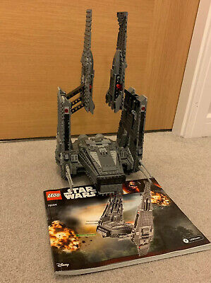 Lego Star Wars - Collectable Model Kylo Ren's Command Shuttle from set 75104