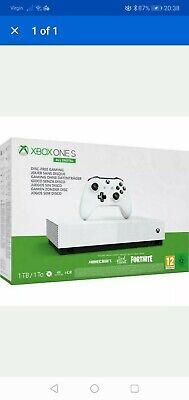 Xbox One S 1 Tb All-Digital Console - Fortnite Edition - New - Fast & Free!