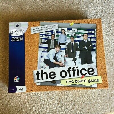 The Office DVD Board Game Party Family Pressman Trivia Dunder Mifflin NBC NEW