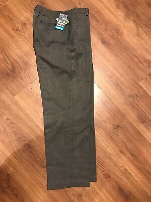 Boys Grey School Trousers New Age 12 Years GENEROUS FIT BHS