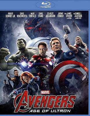 Marvel's Avengers: Age of Ultron 1-Disc BD [Blu-ray] DVD, Don Cheadle, Anthony M