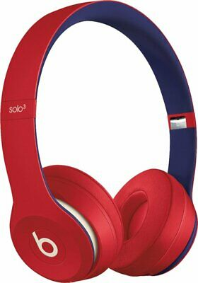 Beats Solo3 Solo 3 Wireless Headphones MV8T2LL/A Club Red   100% Authentic