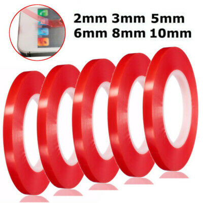 For Cell Phone Repair Red Double Sided Super Sticky Heavy Duty Adhesive Tape 25m
