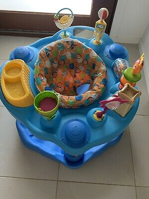 Baby clear out Evenflo ExerSaucer Activity Centre mega splash