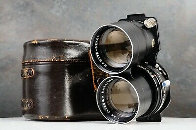 :Mamiya Sekor 135mm f4.5 Blue Dot TLR Lens w/ Case for C220 C330