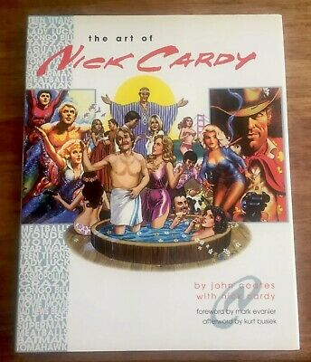 HC Book 2001 The Art Of Nick Cardy John Coates With Nick Cardy NM