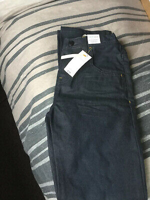 Boys Jeans Adjustable Waist Slim Fit Indigo Collection M&S BNWT Age 12-13