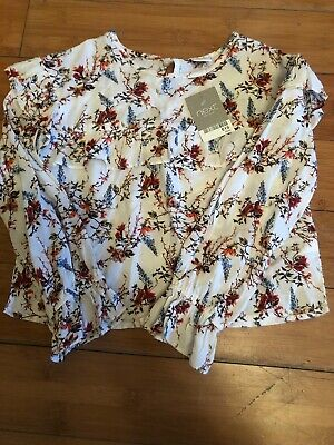 Next Girls Floral Blouse Age 6 BNWT
