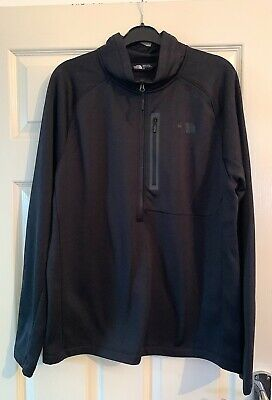 The North Face Half Zipped Top, Large, Dark Grey, Impeccible Condition