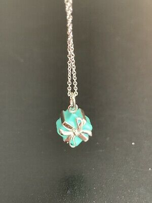 Tiffany & Co The Little Blue Box Pendant Necklace