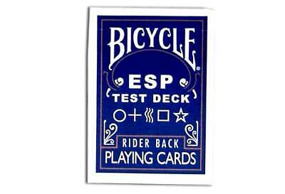 Magic Makers Bicycle ESP Test Deck - Special Bicycle Cards - Deck Only