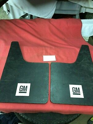 One Pair Of Gm Logo Mud Flaps For Your Truck Or Trailer