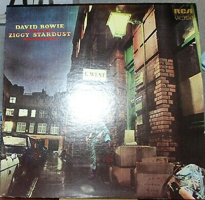 David Bowie-The Rise and Fall Of Ziggy Stardust ... Vinyl LP RCA AFL1 4702