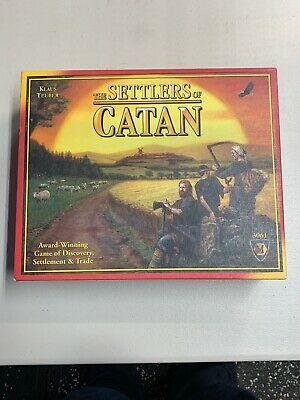 The Settlers of Catan Board Game [COMPLETE]