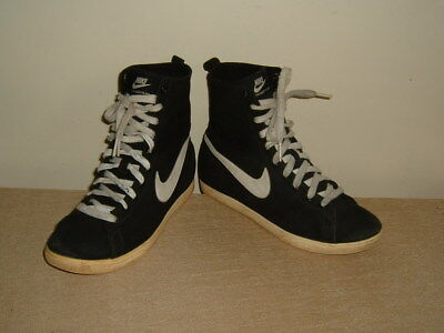 NIKE RACQUETTE MID womens older girls / boys high top trainers shoes 5 RRP £108