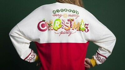 Disney Parks Mickey's Very Merry Christmas Party 2019 Spirit Jersey Size XS