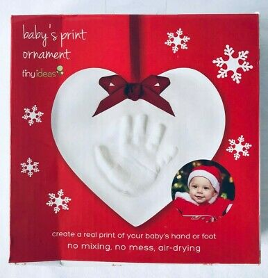 Tiny Ideas Baby's Print Ornament