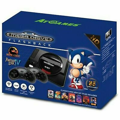 Sega Megadrive Flashback HD Console with 85 Built - In Games Included.