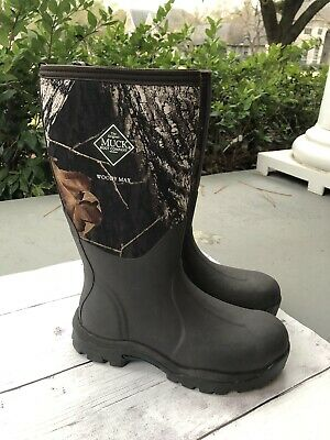 NEW Muck WOODY MAX  Camo Hunting WATERPROOF Boot AUTHENTIC Womens 7 US